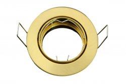 E044353 Druckguss Einbaustrahler Messing Gold