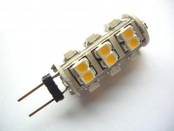 26SMD G4 LED Warmweiß Lampe 12V