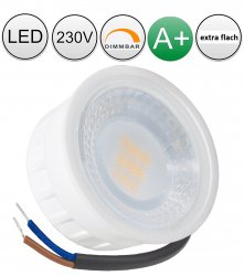 Super flach LED Modul 5W daylight 230V dimmbar