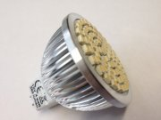 70 SMD 4W MR16 Warmwhite 12V AC/DC 385 Lumen