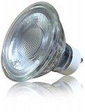 LED GU10 Strahler 5W Warmweiß Schutzglas 230V 3000K 45Grad